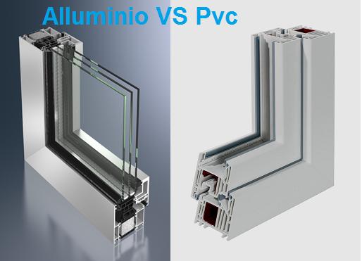 pvc o alluminio