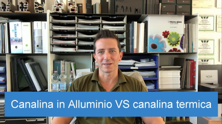 CANALINA IN ALLUMINIO VS CANALINA TERMICA PERDE 58 A ZERO!
