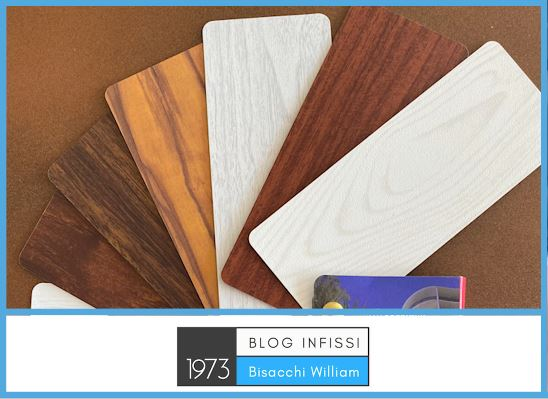 Verniciatura effetto legno