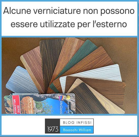 infissi effetto legno 3d
