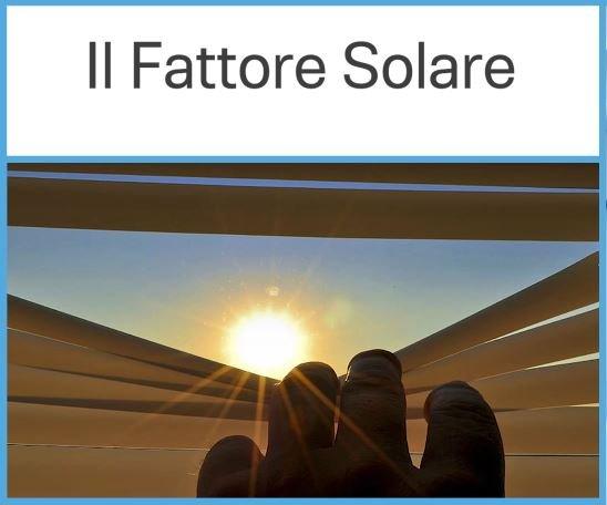 fattore solare vetro