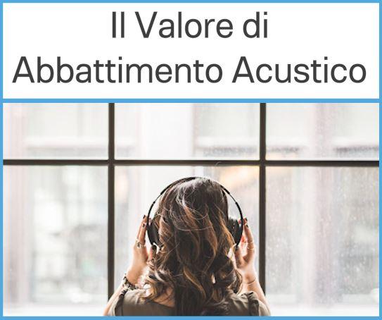 isolamento acustico vetro