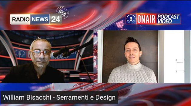 Intervista William Bisacchi su RadioNews 24